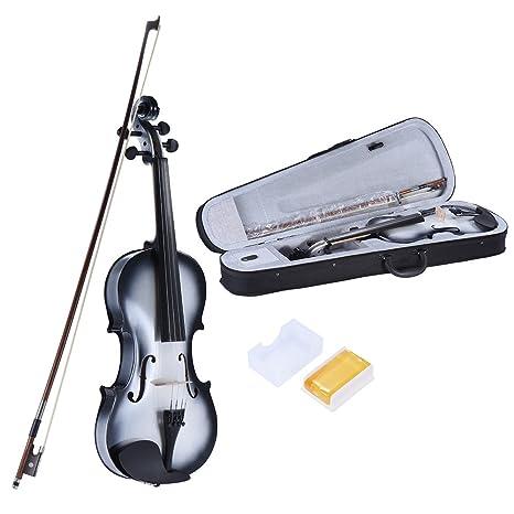 ammoon 4 4 Full Size Tiglio Violino Maple Scorrimento Tastiera Pioli in  lega di Alluminio cae3f7c86a76