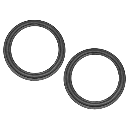 uxcell/® 5.5 5.5 inch Speaker Foam Edge Surround Rings Replacement Parts for Speaker Repair or DIY 2pcs
