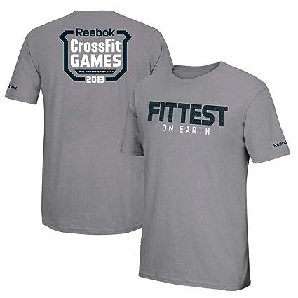 f4e08416134c2 Amazon.com: Reebok Men's 2013 Crossfit Games Fittest On Earth Grey T ...