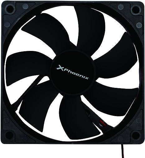 Phoenix technologies - Ventilador auxiliar phoenix phcoolerfan8 8cm / 3 a 4 pines/ 20000rpm/ silencioso/ color negro [España]: Amazon.es: Informática
