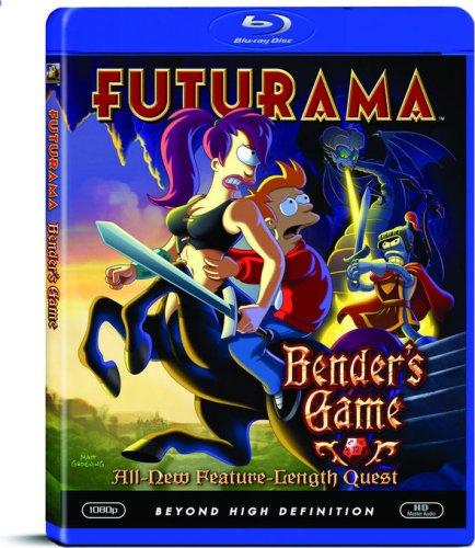 Futurama: Bender's Game Blu-ray