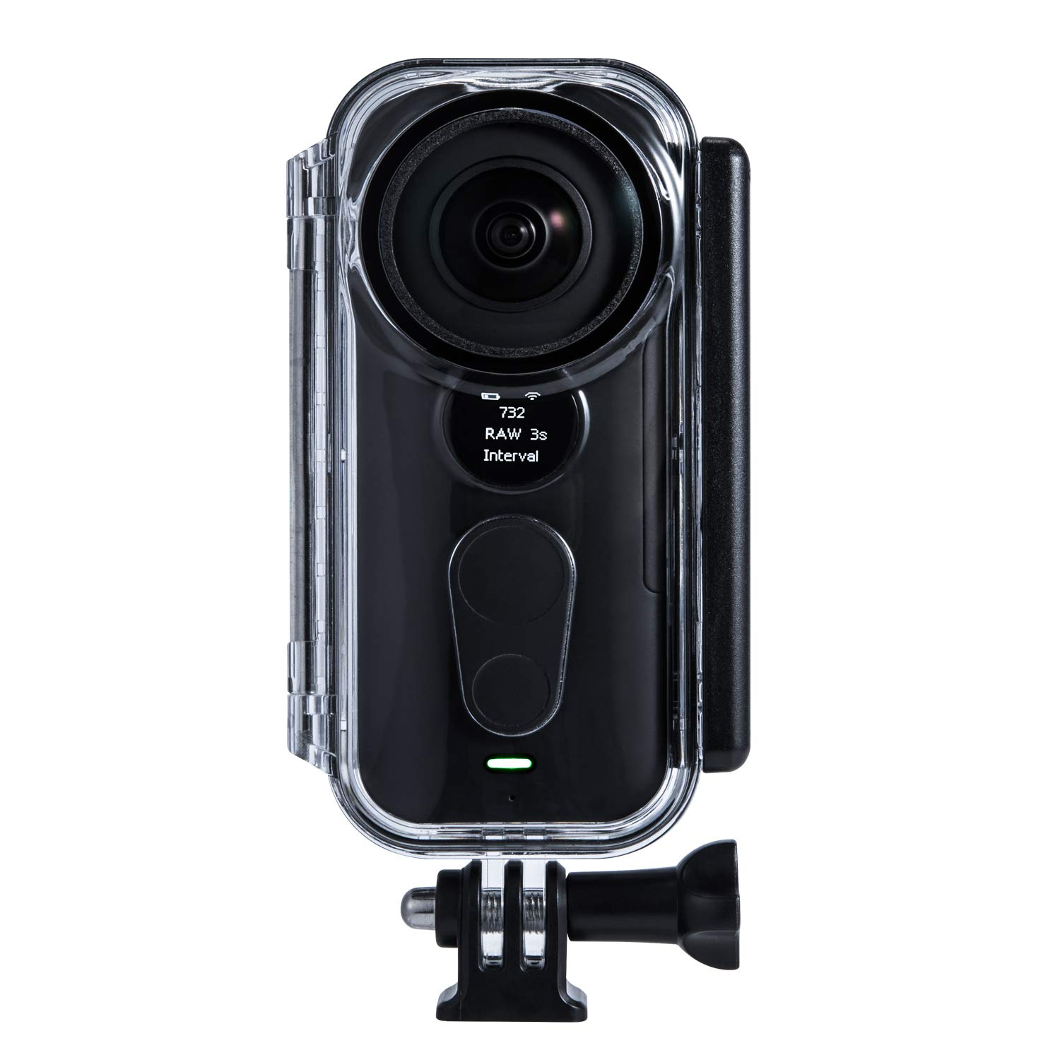 Waterproof Housing Case for Insta360 ONE X Action Camera, Protective 16.4FT/5M Underwater Diving Shell