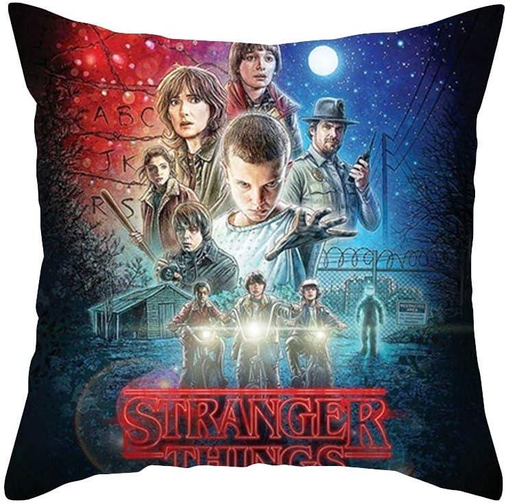 Federa per cuscino da divano per decorare il letto dell/'auto Stranger Things