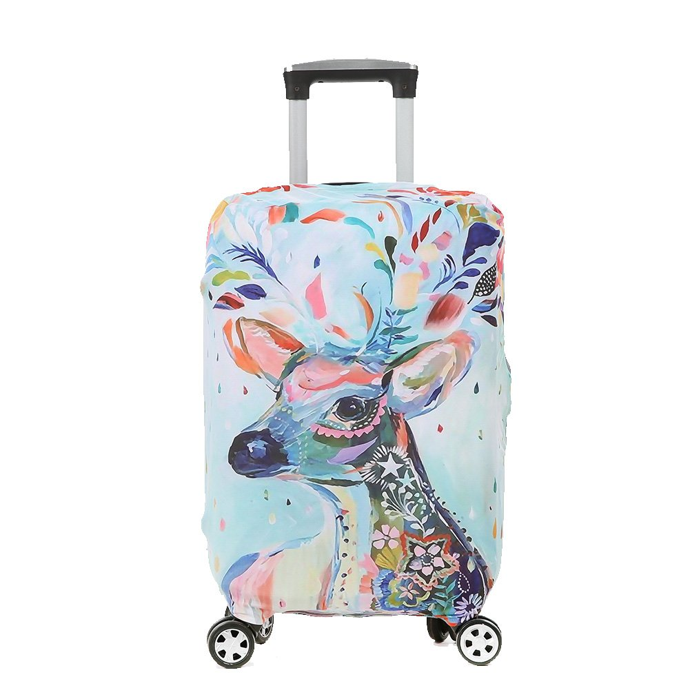 Colorpole Digital Luggage Cover Protective Suitcase Fabric Fits 18 22 30 inch