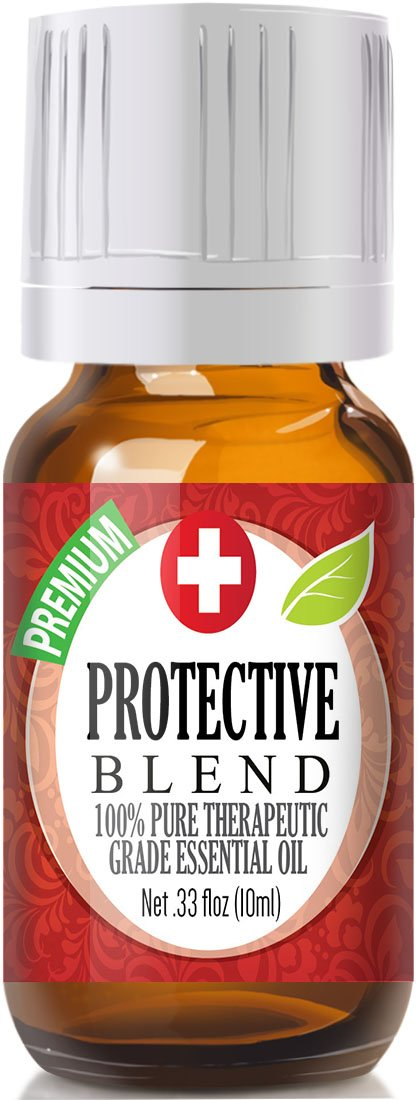 Protective Blend 100% Pure, Best Therapeutic Grade Essential Oil - 10ml - Sweet Orange, Clove, Cinnamon Bark, Eucalyptus, Rosemary