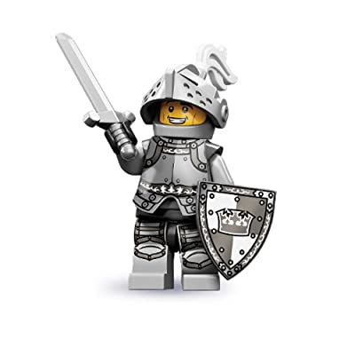 Lego 71000 Series 9 Minifigure Heroic Knight: Toys & Games