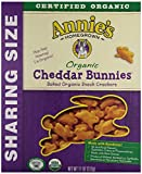 Annie's Homegrown Organic Cheddar Bunnies 11 Ounce (Pack of 72)