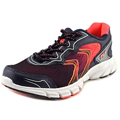 69950039256e Fila Stellaray Women s Running Athletic Shoes Navy Coral 7. 5  Amazon.in   Shoes   Handbags