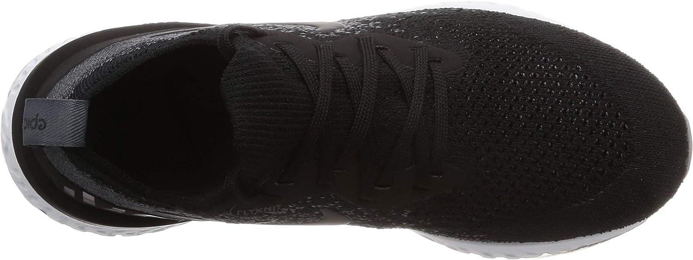 Nike Damen Epic React Flyknit Laufschuhe Schwarz Schwarz Weiß Schwarz Weiß