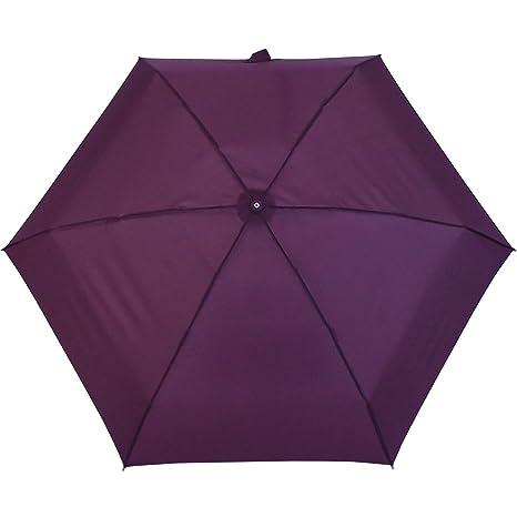 Samsonite Minipli Colori Paraguas Clásico, Color Burgundy