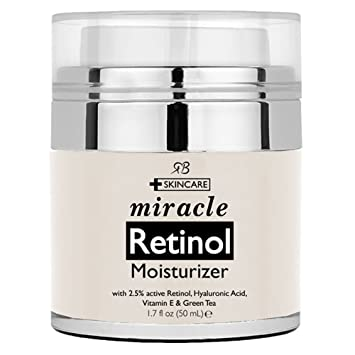 Amazoncom Retinol Moisturizer Cream for Face with Retinol