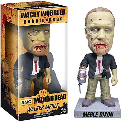 ZOMBIE MERLE CABEZON FIG 18 CM WACKY WOBBLER THE WALKING DEAD (Funko Walker Merle)
