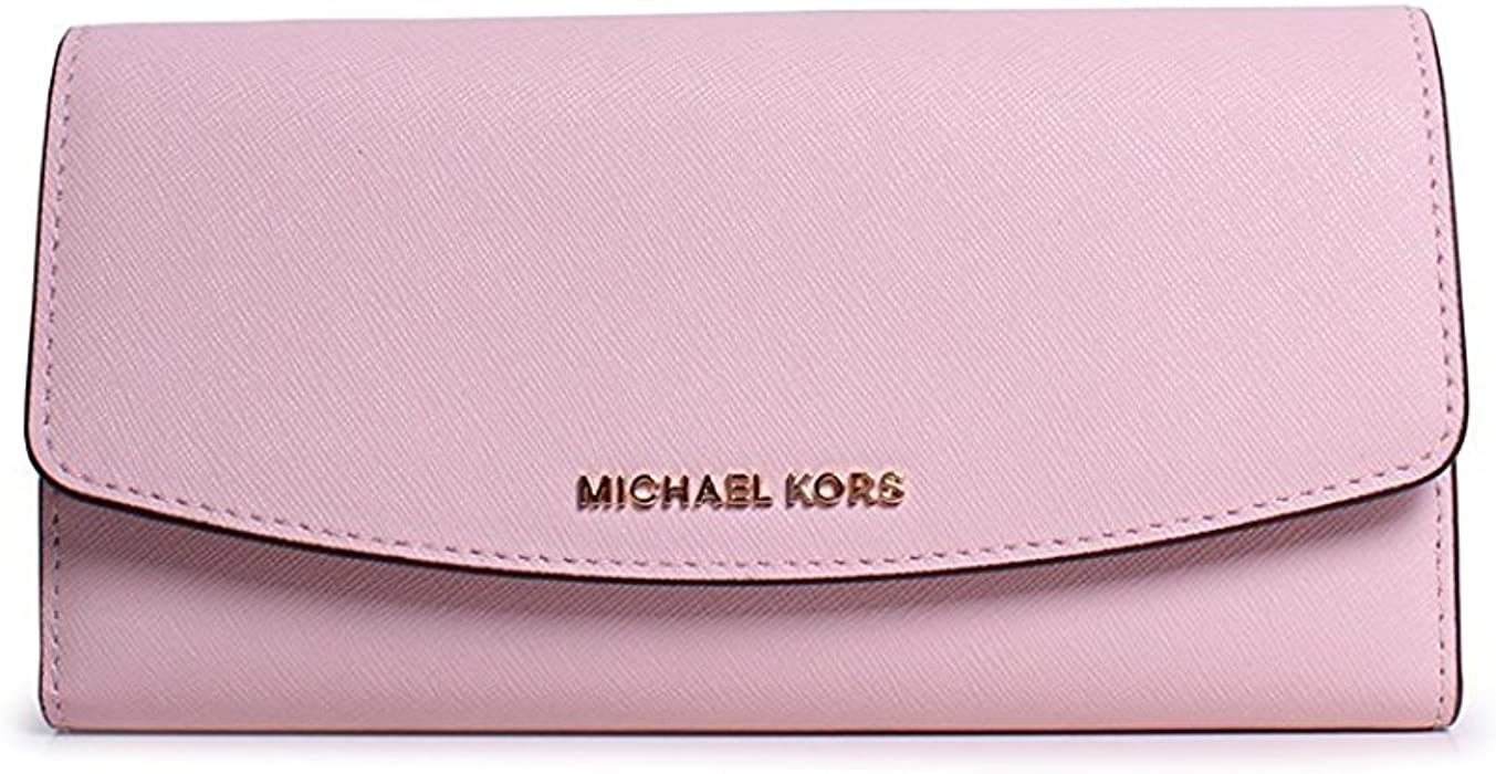 71e49c23fc5576 MICHAEL Michael Kors Ava Large Saffiano Leather Wallet (Blossom ...