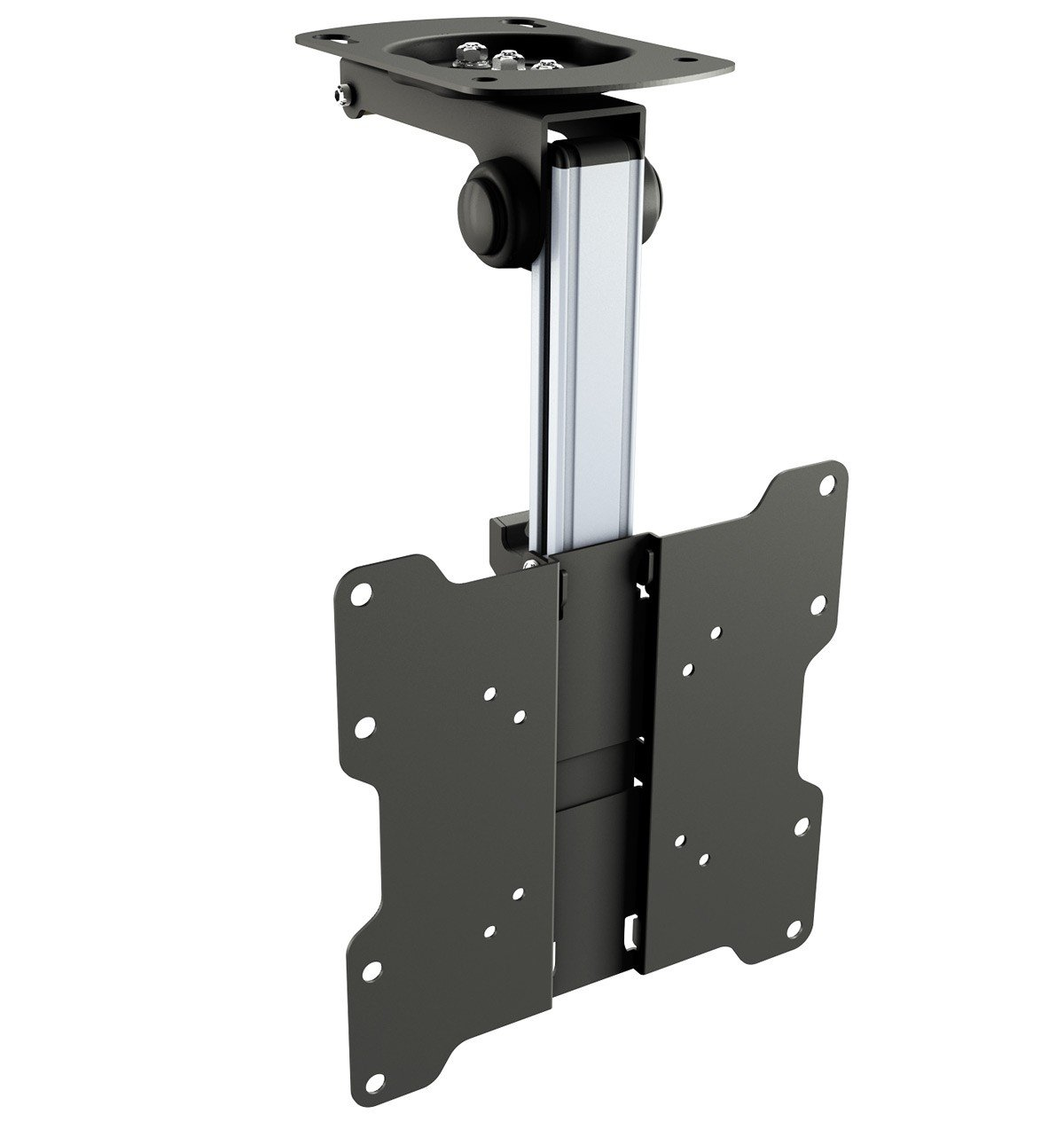 Ricoo Support Tv Plafond Orientable Inclinable D0122 T L Viseur  # Pied Tv Orientable Tv Incurve