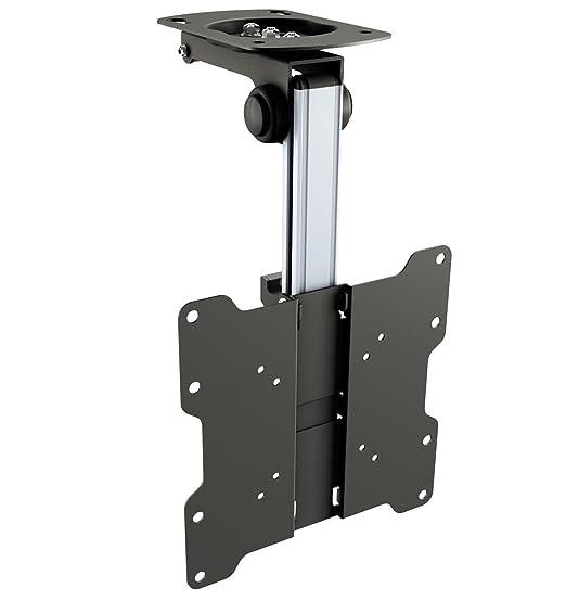 30 opinioni per RICOO Supporto da soffitto per monitor e TV D0122 inclinabile pieghevole