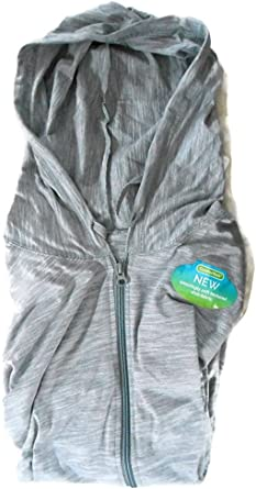 Hanes Womens Jersey Full Zip Hoodie