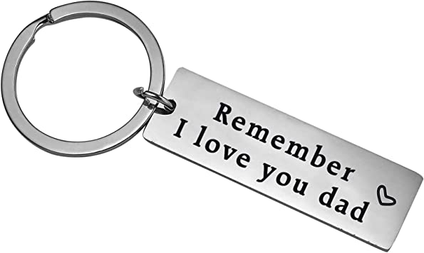 Papa Gift Birthday Key Ring Personalised To Be Present Fathers Day Idea