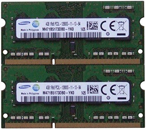 (Samsung ram memory upgrade DDR3 PC3 12800, 1600MHz, 204 PIN, SODIMM for 2012 Apple Macbook Pro's, 2012 iMac's, and 2011 / 2012 Mac mini's (8GB kit ( 2 x 4GB )))