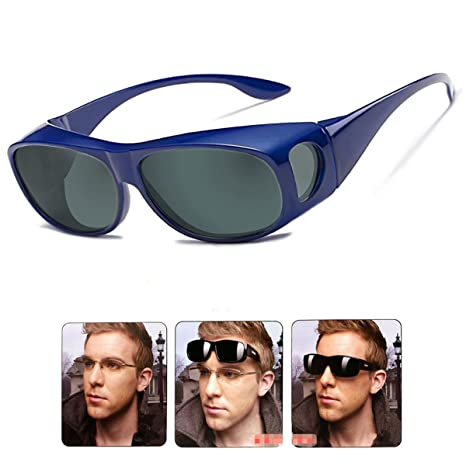 27fc420e01 Wear Over sunglasses for men women Polarized lens