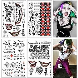 61LZKi4OjML._AC_UL250_SR250,250_ Harley Quinn Tattoos