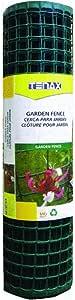 Tenax Corporation 2A060090 Garden Fence-2X25 GREEN GARDEN FENCE