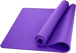 zhang-hongjun,Santé et Remise en Forme, épais Tapis de Yoga Confortable en Mousse de 1 cm de Long(Color:Violet)