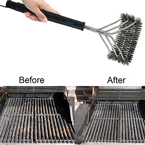 HILLPOW Upgraded Stainless Charcoal Electric product image