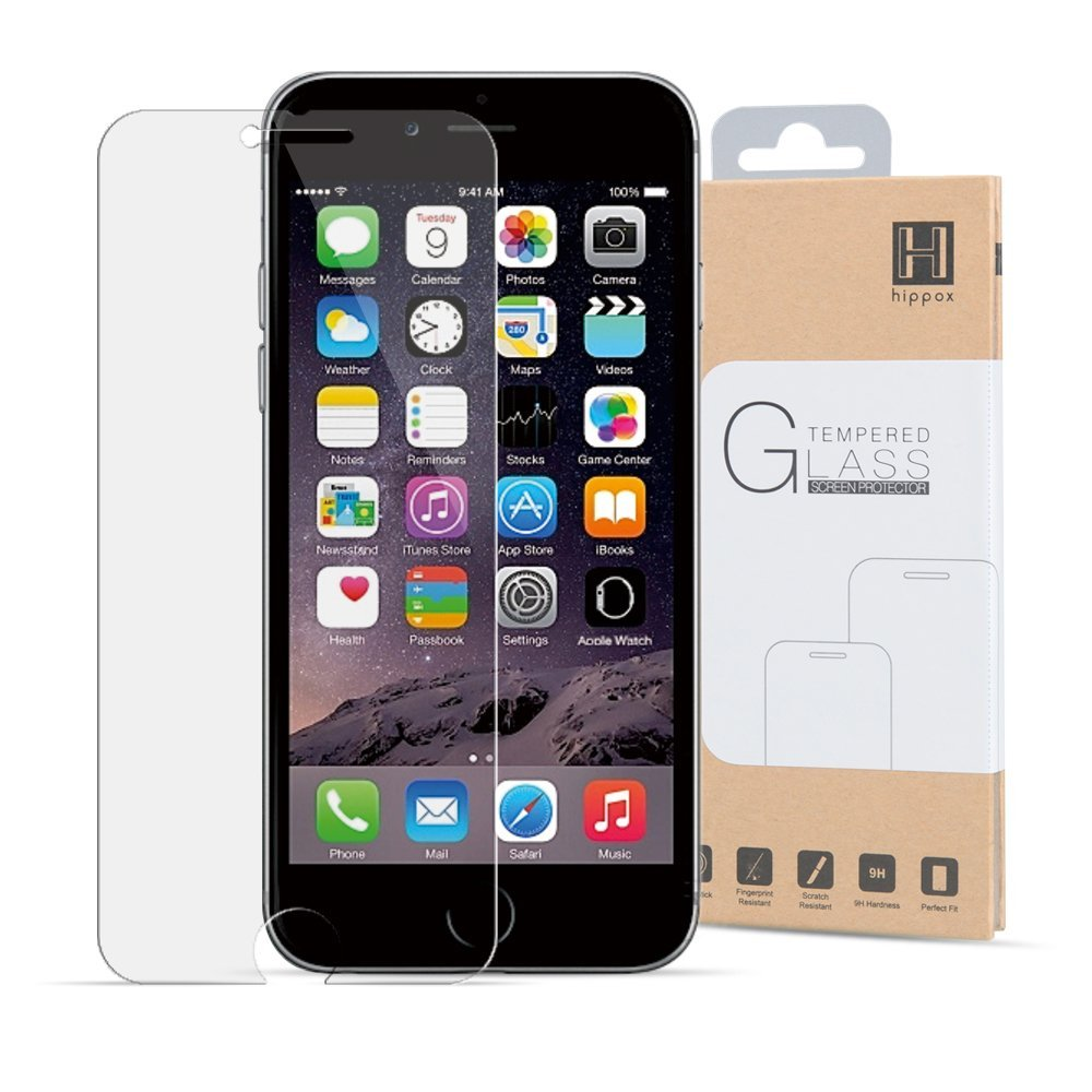 Hippox Ballistic Glass Tempered Glass Screen Protector For Iphone 6 / 6S 18