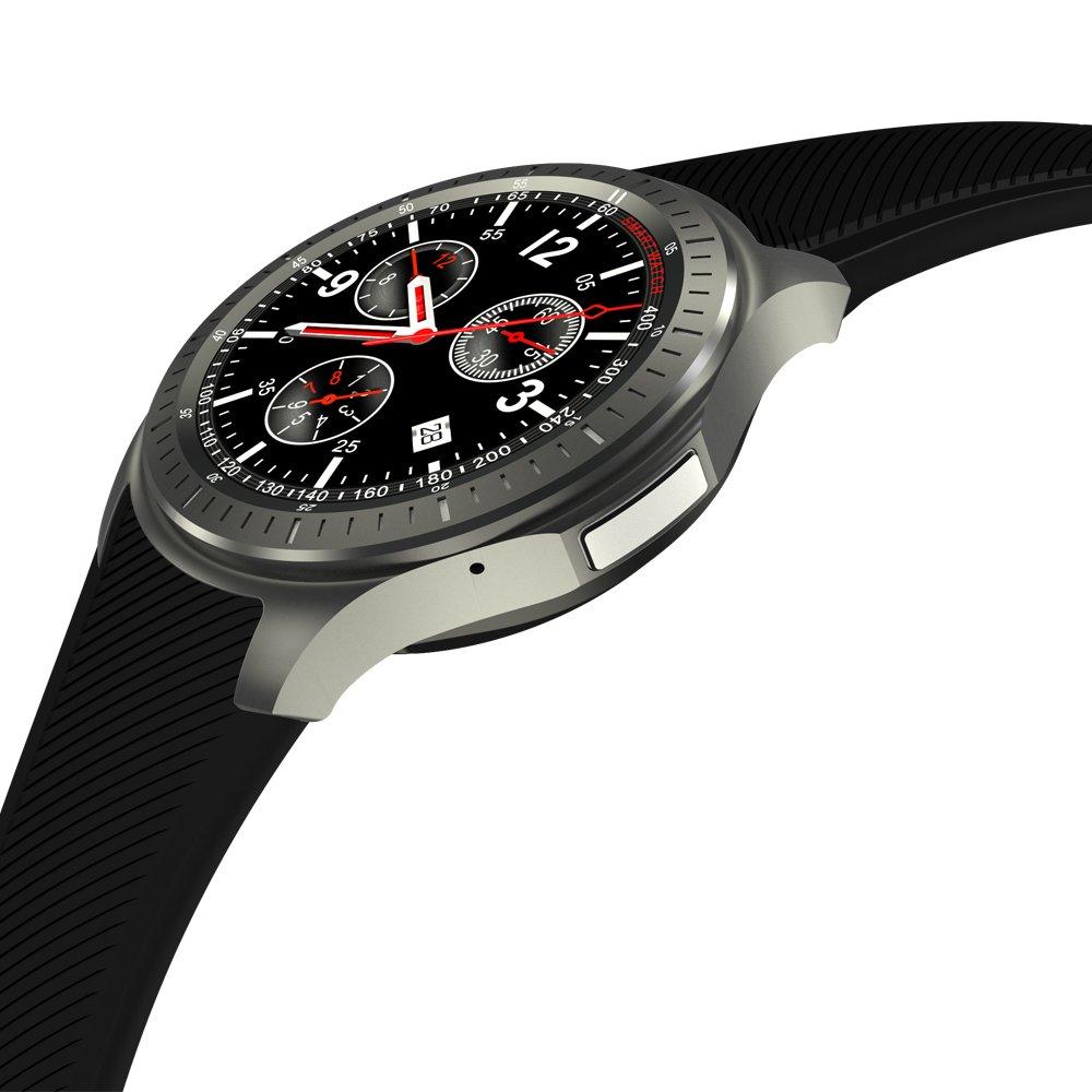 poilee redondo reloj inteligente Android 5.1 MTK6580 tarjeta ...