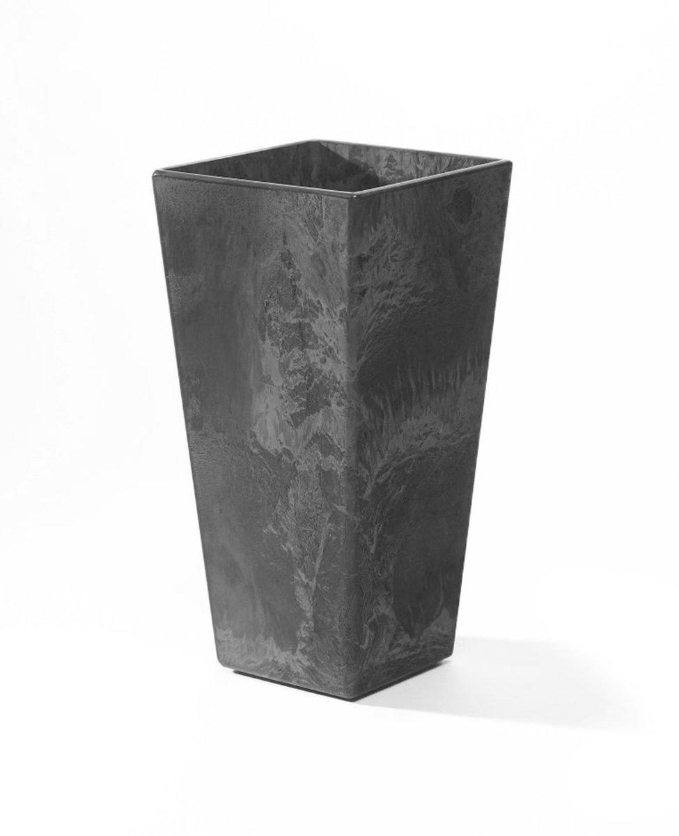 ArtStone Ella Tall Planter, Grey, 35.5-Inch