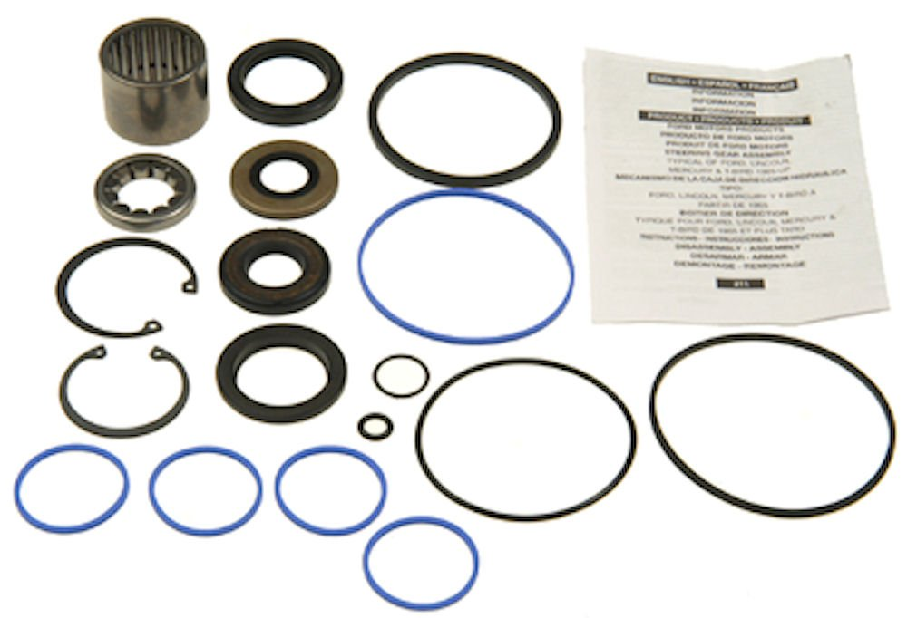 Edelmann 8896 Power Steering Gear Box Complete Rebuild Kit by Edelmann