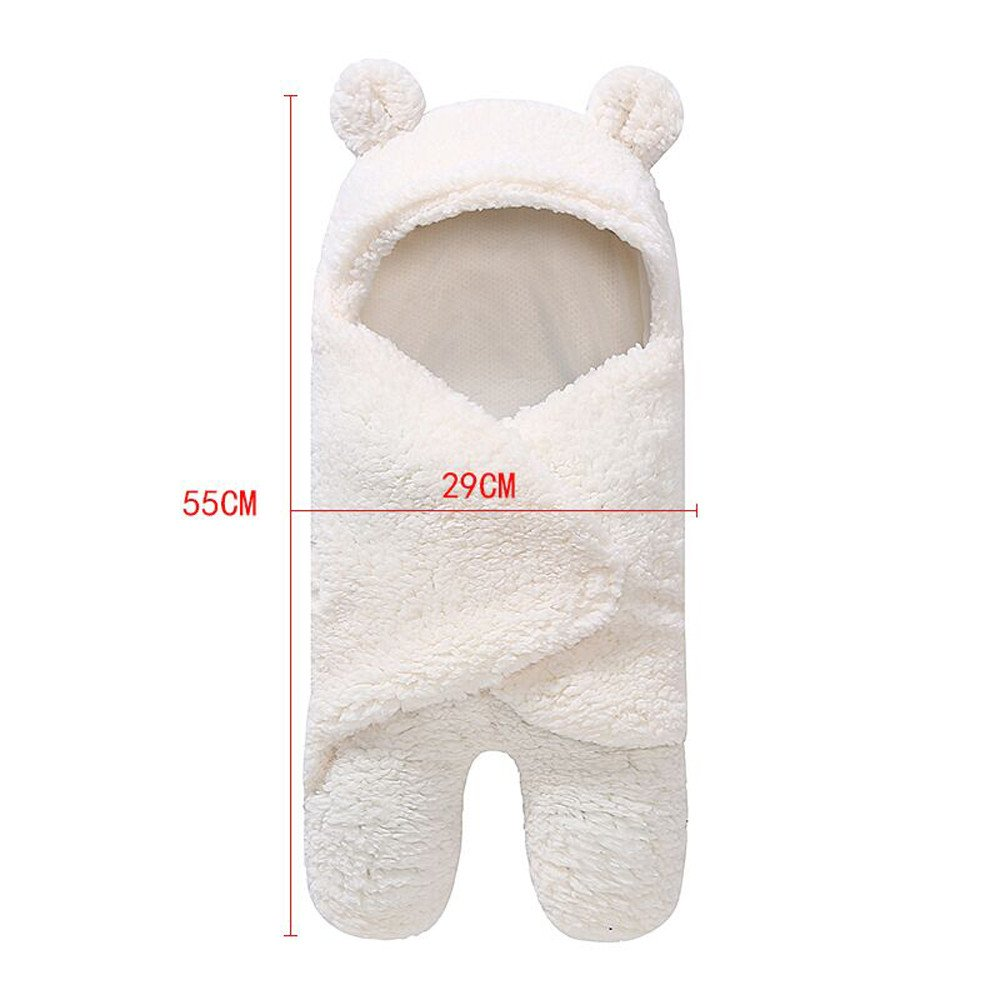 Zeside Baby Sleeping Bag Wrap Blanket Universal Baby Cute Newborn Infant Baby Boy Girl Swaddle Photography Prop for 0-12 months