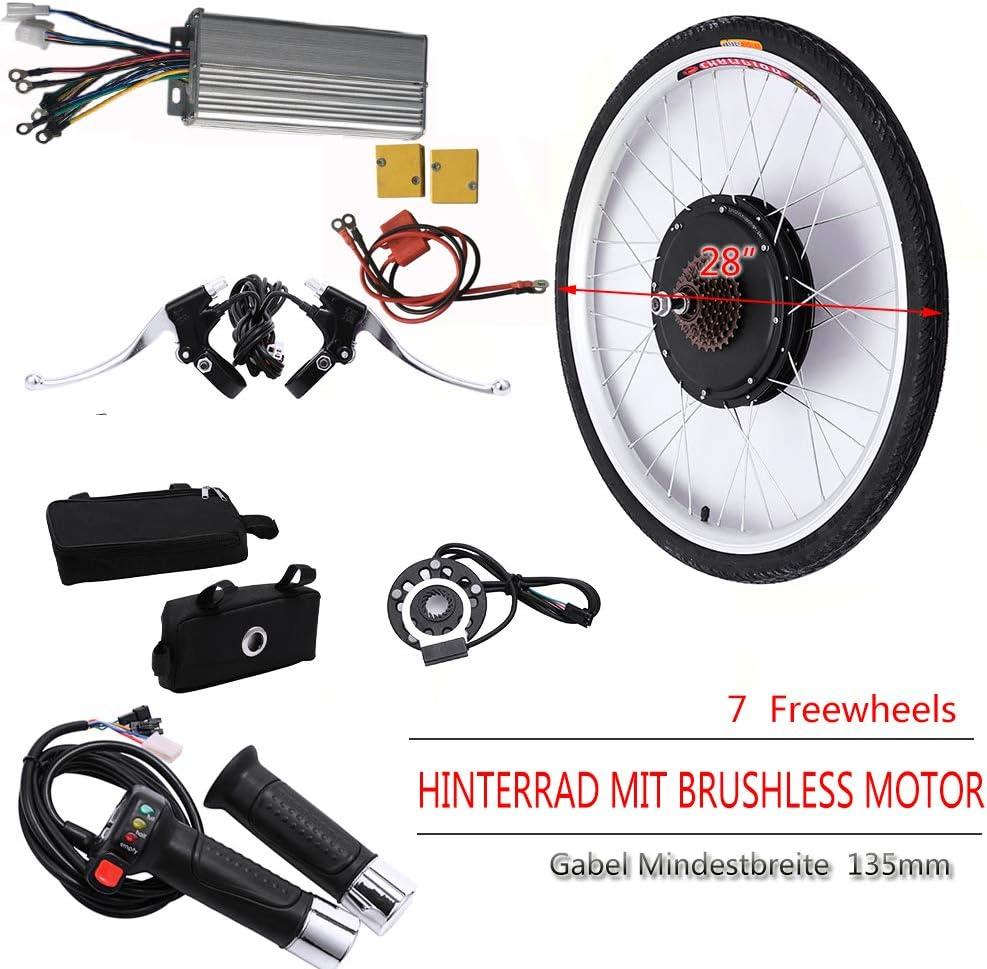 OUKANING - Kit de conversión con rueda trasera de 28