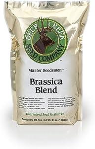 Deer Creek Seed Brassica Blend Food Plot Mix