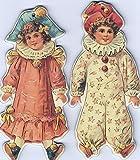 3 PKGS 18Pcs Victorian Doll Christmas Ornaments Diecut Hanging Victorian Decorations