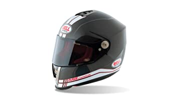 Bell Helmets Street 2015 M6 Carbon Casco Adulto, color Race Blanco, talla S