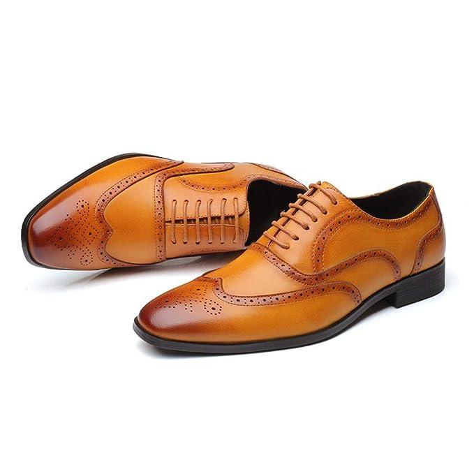 separation shoes c2213 21691 RYTEJFES Lederschuhe Herren Klassiker Business-Schuhe ...