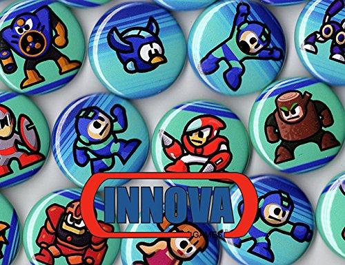 [Mega Man Buttons (6 Random) 1