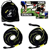 Kbands Victory Ropes – Multiflex Battle Ropes – Strength & Conditioning – Resistance Bands Stretch Up To 20ft Each For Sale