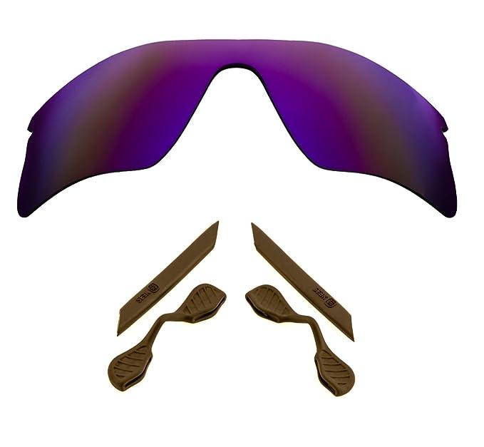 d815f4406f SEEK Lentes Polarizado Kit de Goma para Oakley RADAR RANGE Viola Marrón:  OAKLEY: Amazon.es: Ropa y accesorios