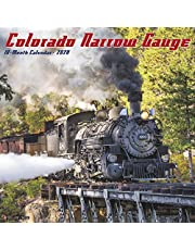 Colorado Narrow Gauge Railroads 2020 Wall Calendar
