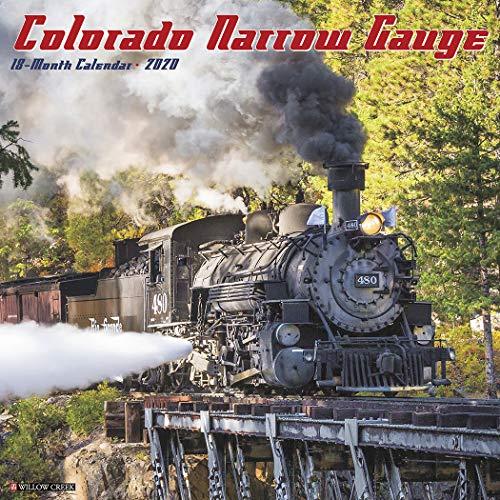 Colorado Narrow Gauge Railroads 2020 Calendar