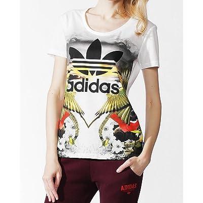 adidas shirt - Femme Blanc blanc