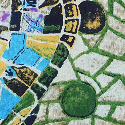 Loud Originals Regular Fit Hemd mit kurzen Ärmeln - Mosaik Fliesen