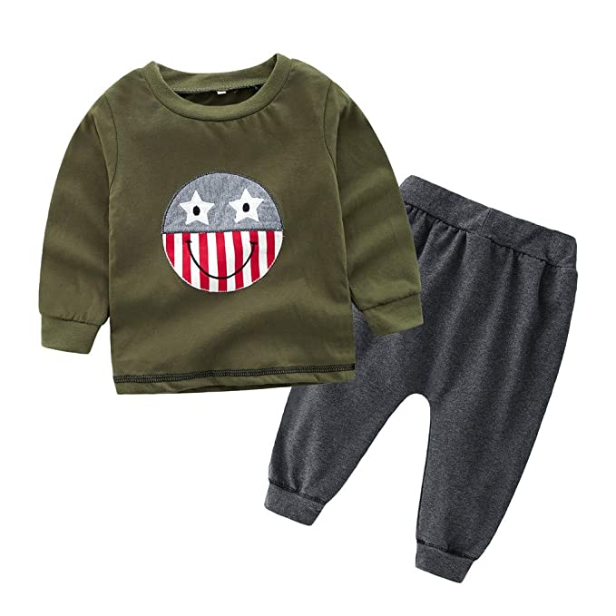 434579e06 Amazon.com  Toddler Kids Newborn Baby Boys Clothes