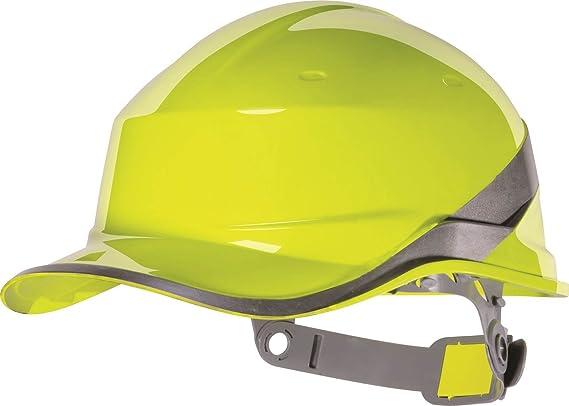 Delta plus - Casco de Trabajo de Seguridad Alta Visibilidad diseño Gorra de béisbol: Amazon.es: Bricolaje y herramientas