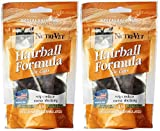 Nutri-Vet Hairball Formula Chicken and Tuna Flavor Soft Chews for Cats, 3-Ounce(2Pack)