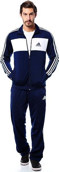 adidas Trainingsanzug, für Herren navyweiß 50   GALERIA