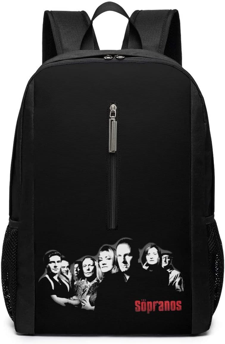 The Sopranos Computer Backpack Waterproof Casual Printing Fashion Backpack