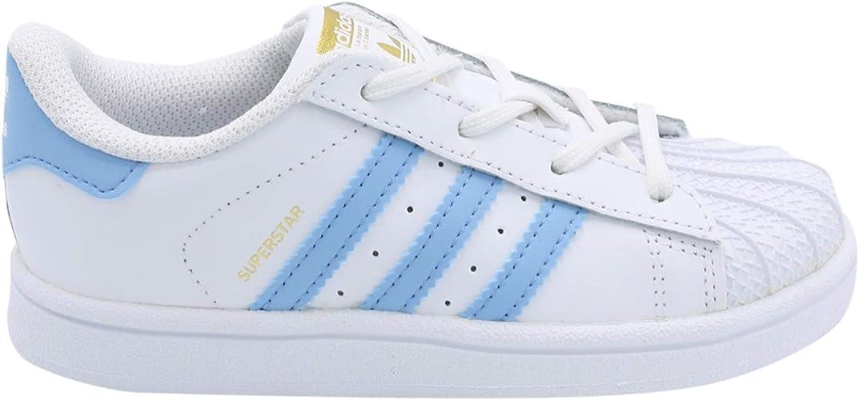 adidas superstar slip on light blue